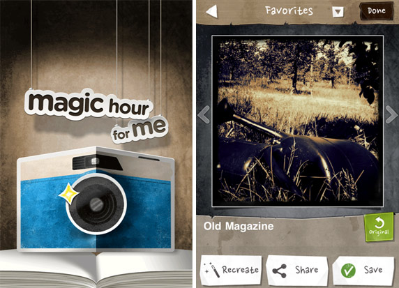 magichour foto screenshot MagicHour: flexible Vintage Foto App mit Filter Community