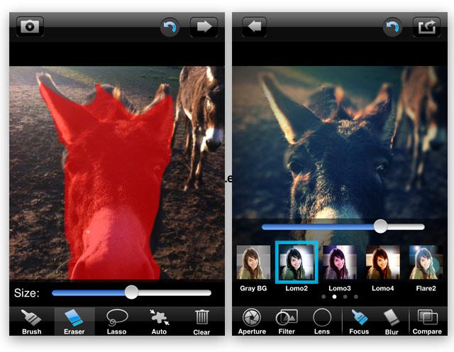 biglens foto app iPhone Fotos mit Tiefenschärfe: BigLens Foto App